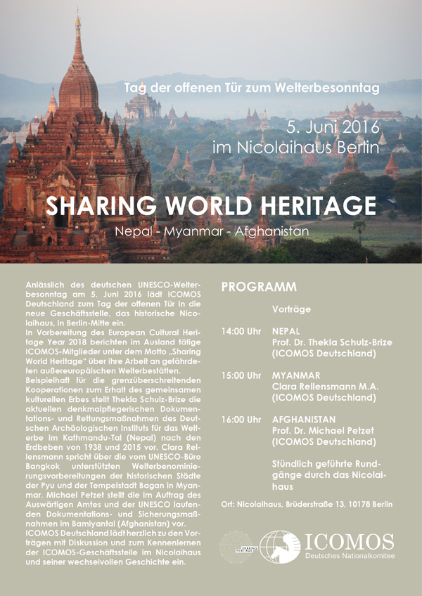 Sharing World Heritage